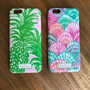 Lilly Pulitzer iPhone 6 Phone Case Set
